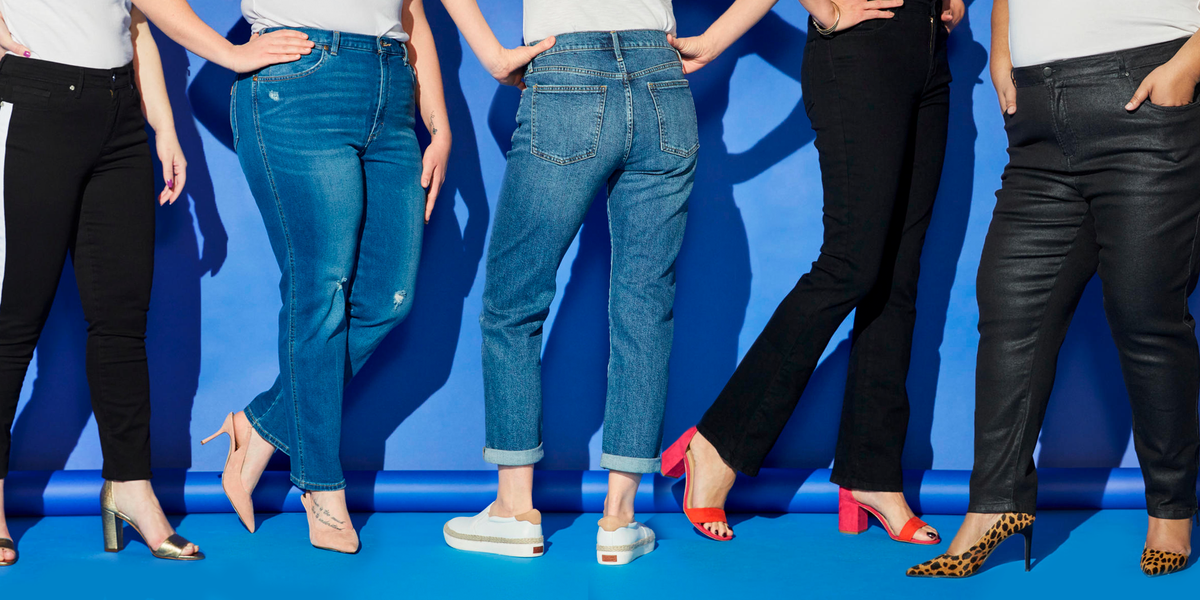 18 Best Jeans for Every Women's Body Type - Best Fitting Jeans by ...