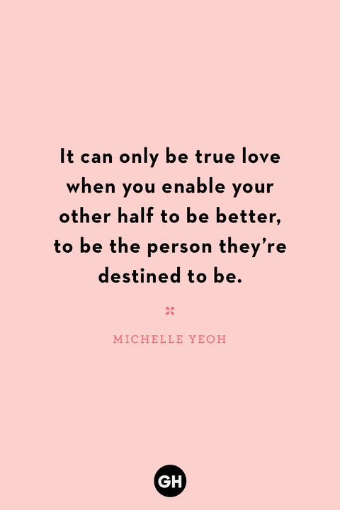 lesbian love quote on pink background