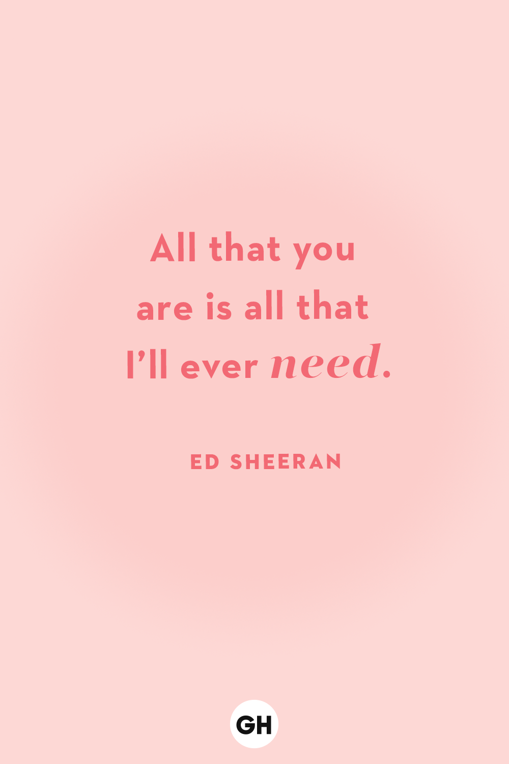 gh love quotes ed sheeran 0d