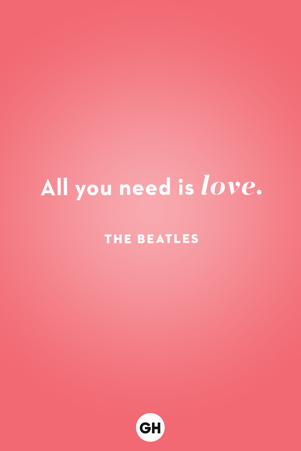 gh love quotes the beatles