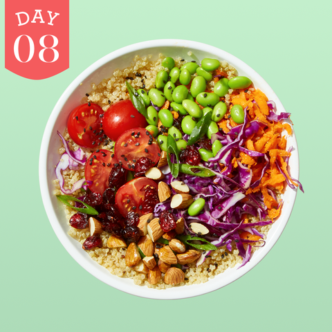 meatless meals challenge day 8