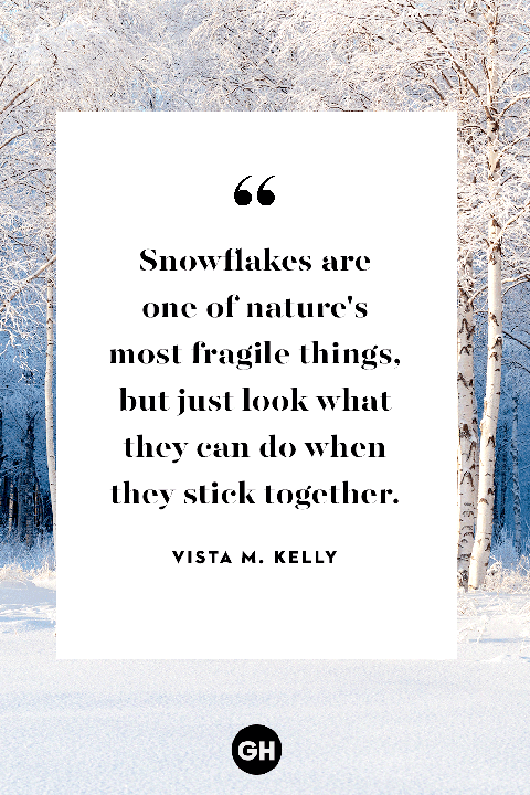 16 Best Quotes About Snow - Snowy Winter Quotes & Sayings