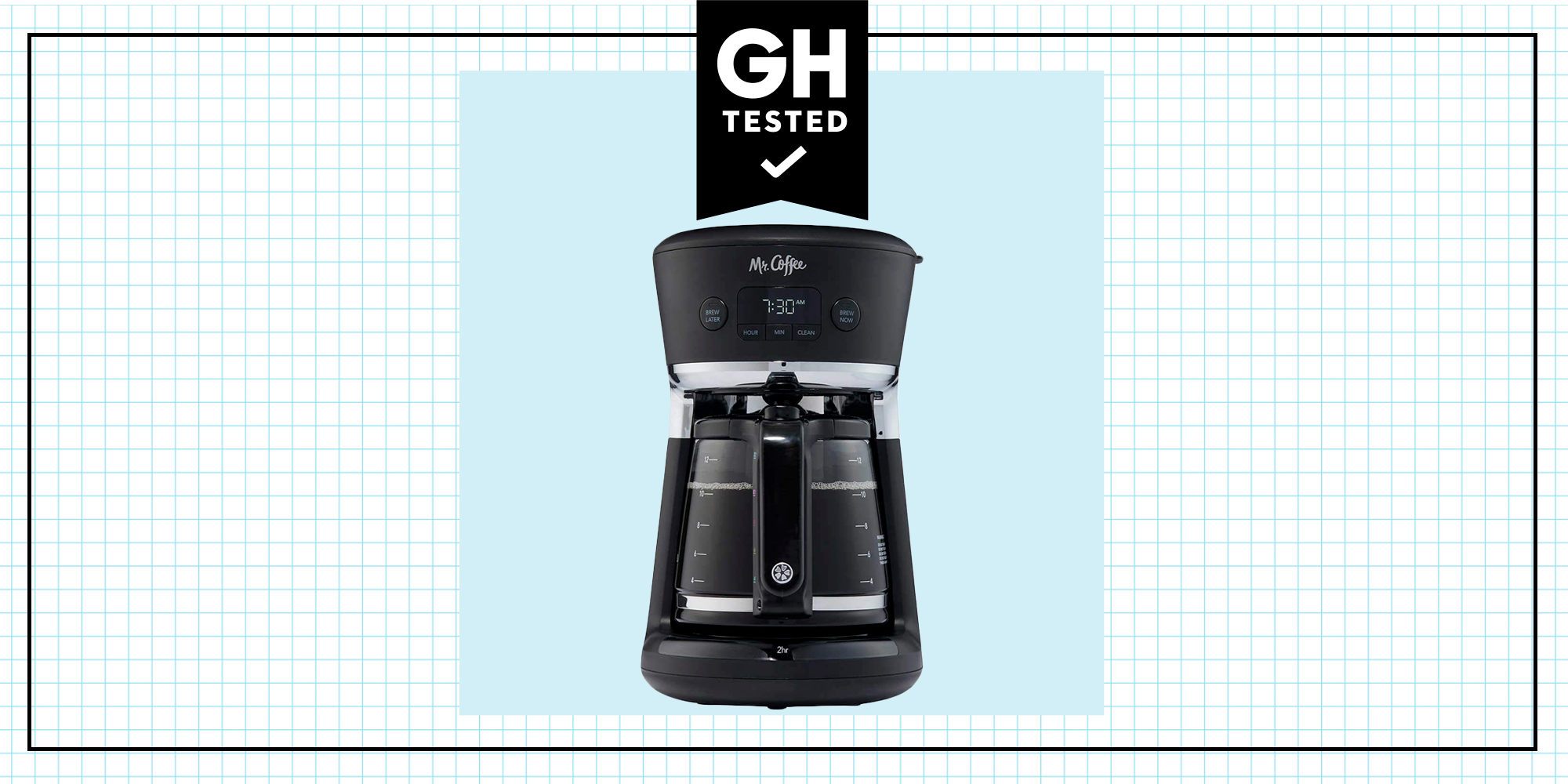 Gh Tested Mr Coffee Easy Measure 12 Cup Coffee Maker Review