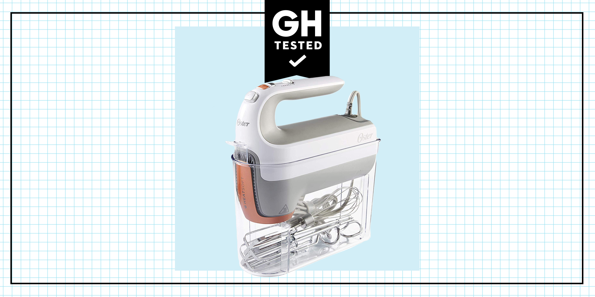 GH Tested: Oster Hand Mixer With HeatSoft Technology