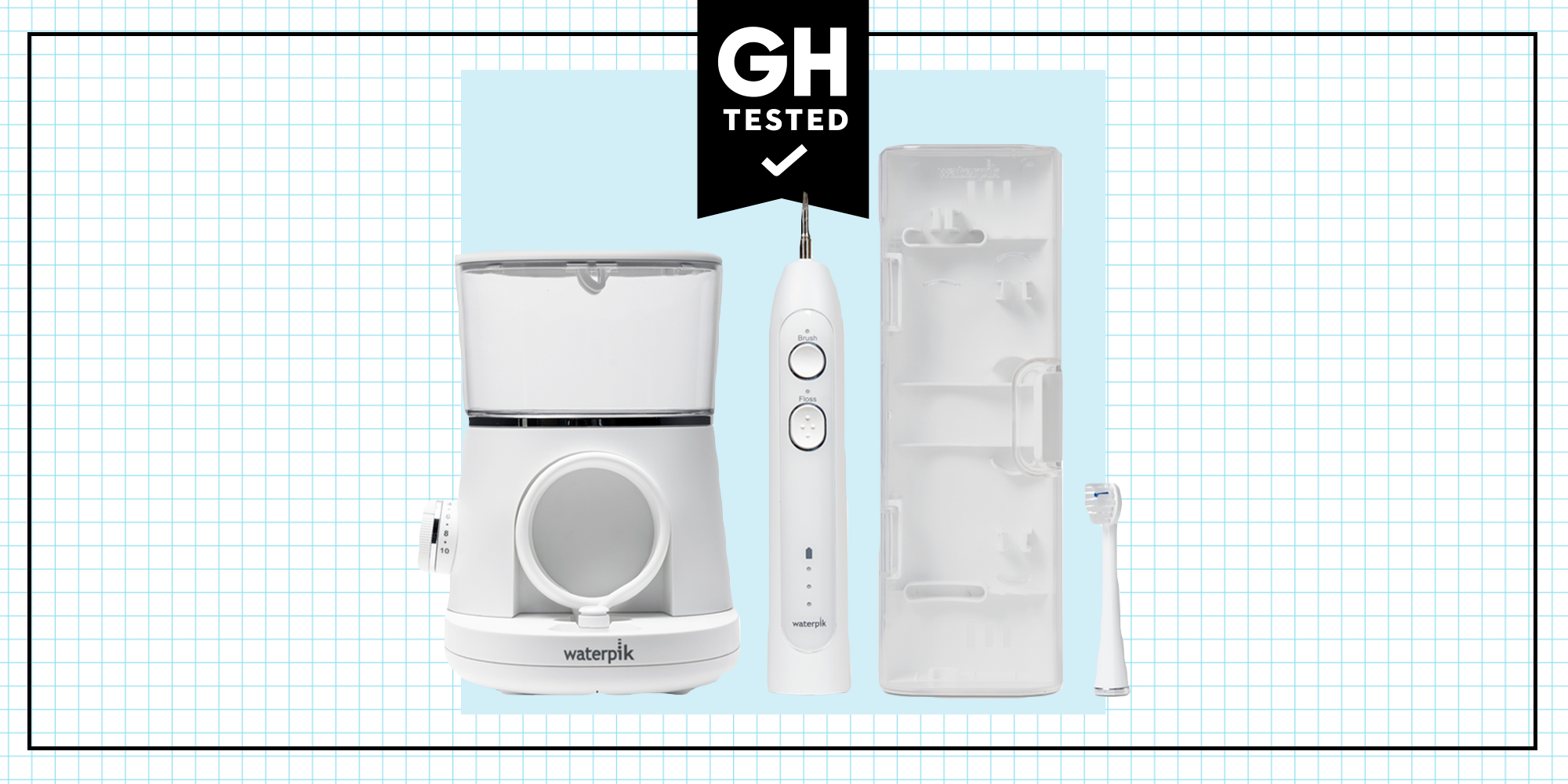 GH Tested: Waterpik Sonic-Fusion Flossing Toothbrush