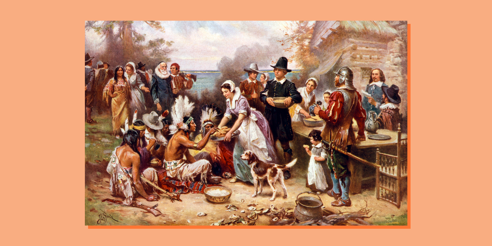 The True, Dark History Behind Thanksgiving