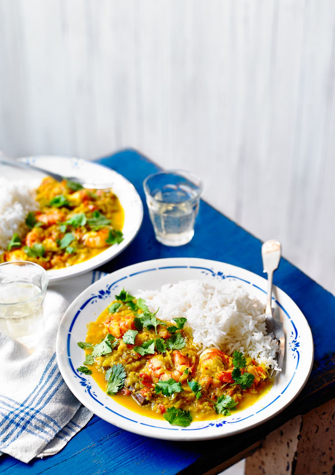 Keralan-Style Prawn and Coconut Curry