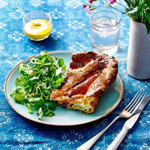 best traybake recipes vegetarian toad in the hole