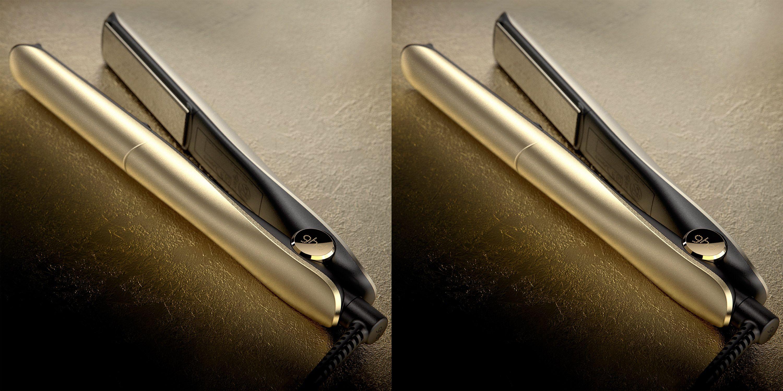ghd launch 18K gold hair straightener