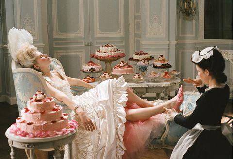 A scene from Marie Antoinette