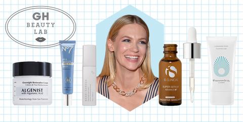 January Jones' Skincare Routine