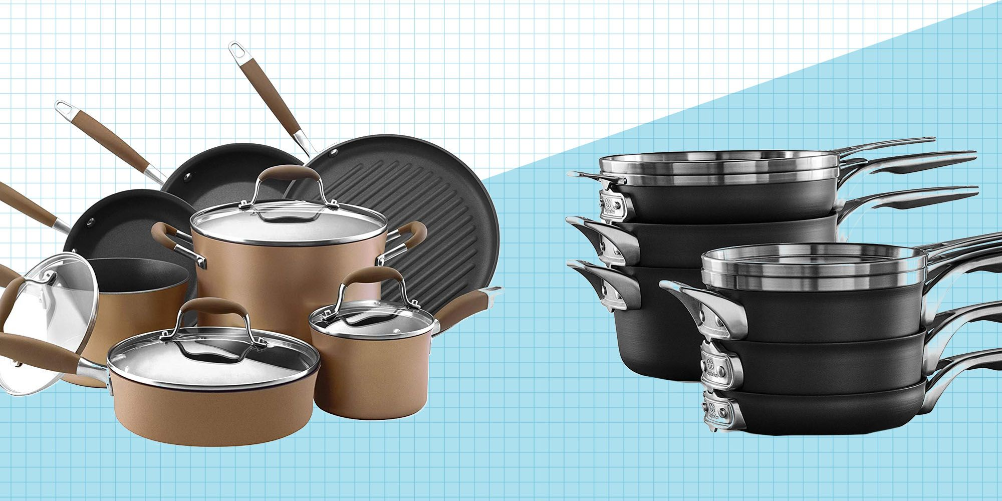 best nonstick cookware to buy in 2019 best non stick pans and rh goodhousekeeping com
