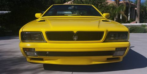 Land vehicle, Vehicle, Car, Yellow, Coupé, Bumper, Hood, Sedan, Grille, Luxury vehicle,