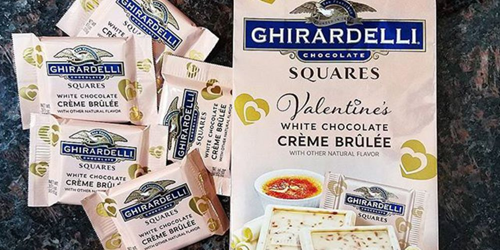 Ghirardelli's White Chocolate Crème Brûlée Flavor Is Exclusively at Target for Valentine's Day