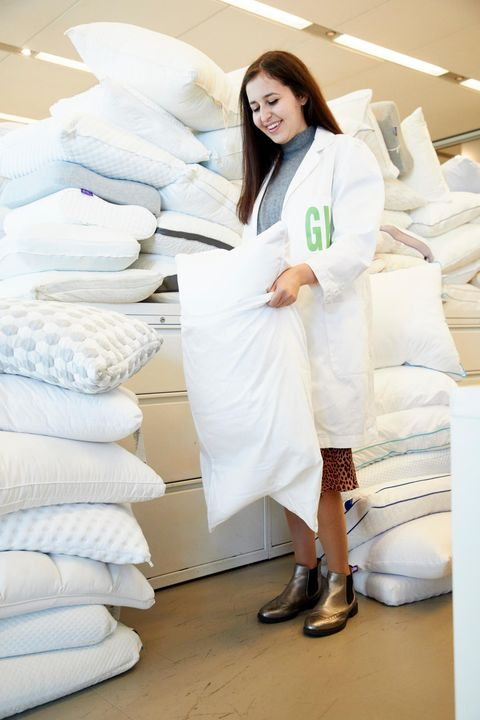 best pillows   pillow testing at good housekeeping institute