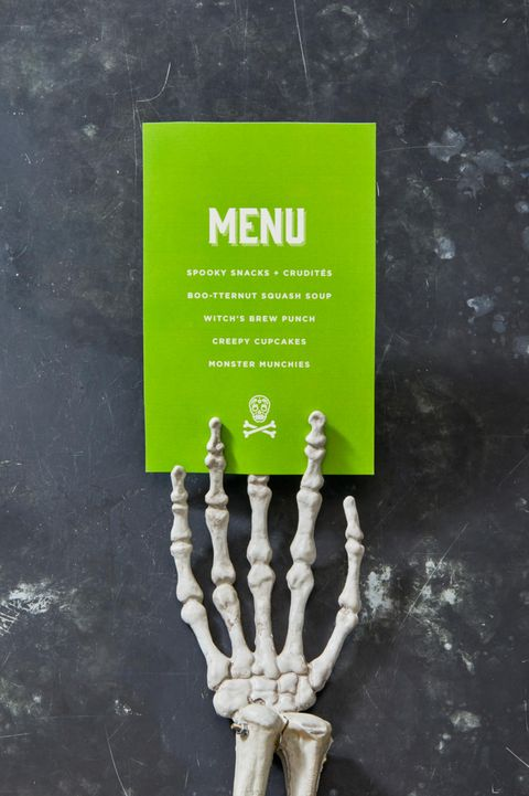 halloween party menu idea