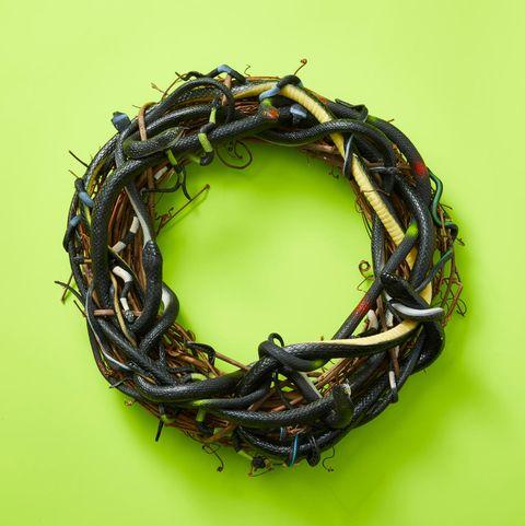 Halloween Wreaths - Snake Wreaths