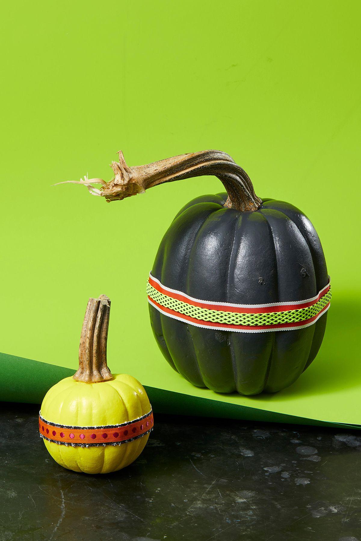 72 Easy No Carve Pumpkin Decorating Ideas Cute Pumpkin Decor Ideas