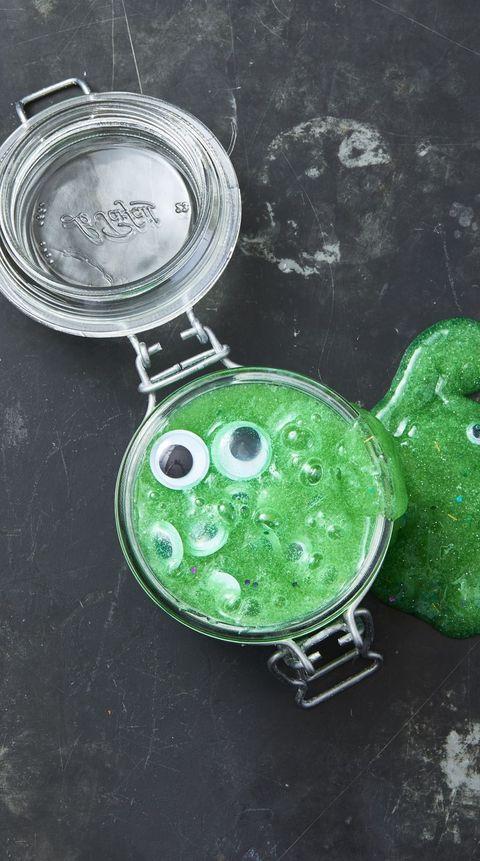 Halloween Crafts for Kids Eyeball Slime
