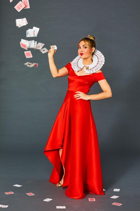 homemade halloween costumes - queen of hearts