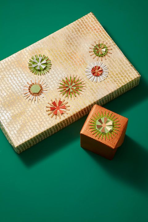 Christmas Crafts - Starburst Gift Topper