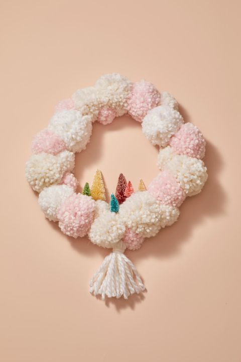 Christmas Crafts - Pom Pom Wreath