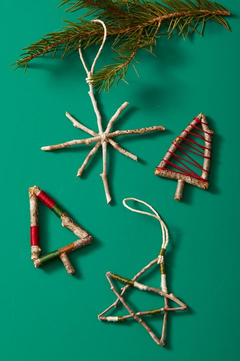 Christmas Crafts - Twig Ornaments