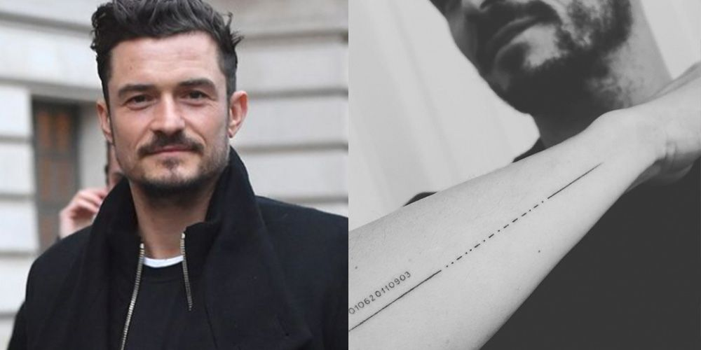 Orlando Bloom Just Got a Tattoo of His Son's Name But Accidentally Spelled It Wrong