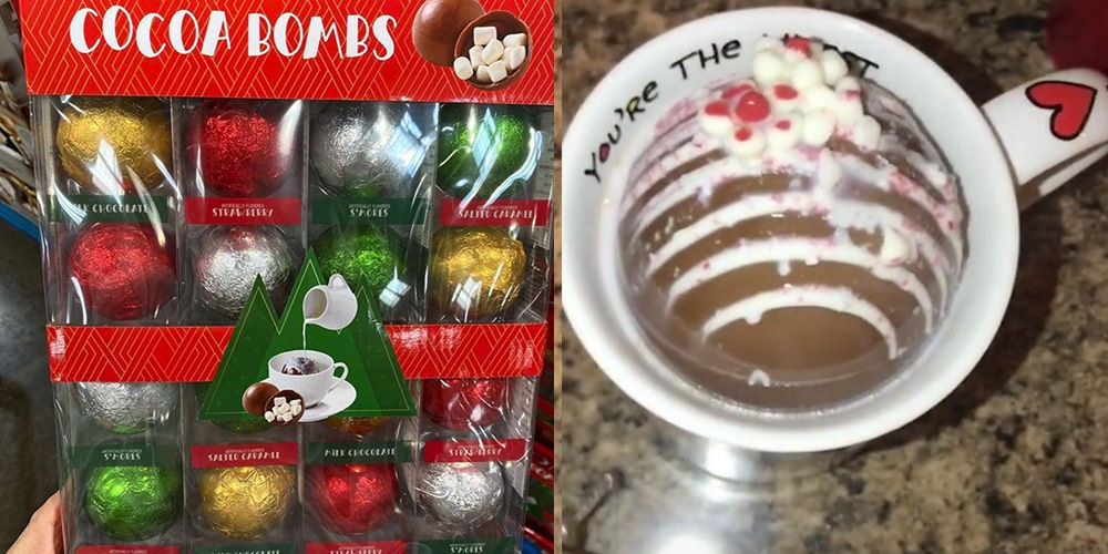 People Are Going Crazy for These Viral Hot Cocoa Bombs