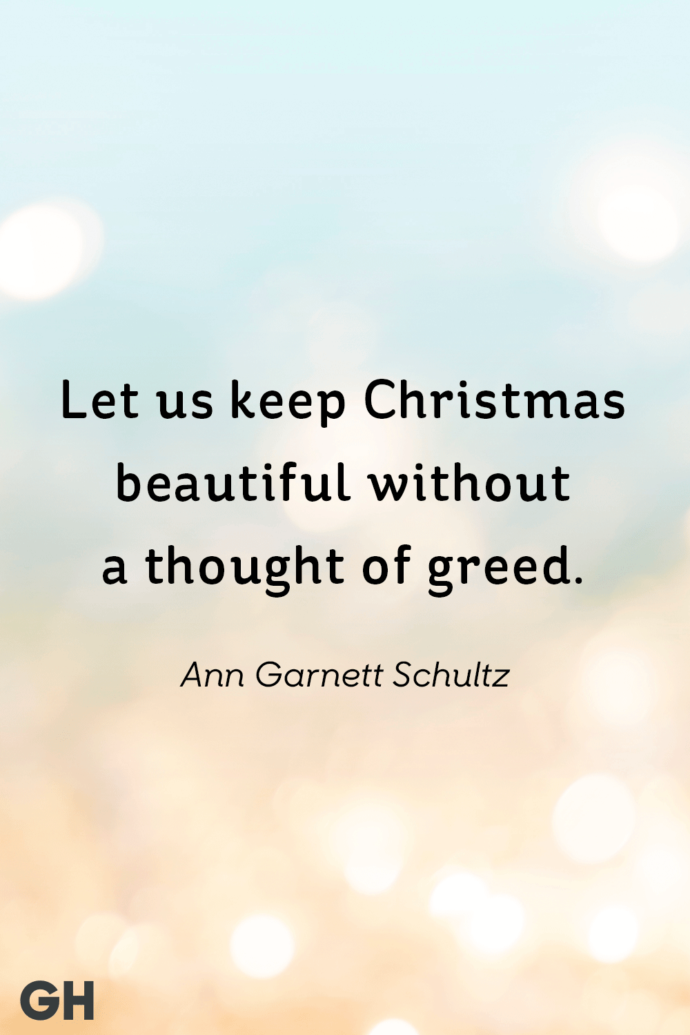 Ann Garnett Schultz Best Christmas Quotes