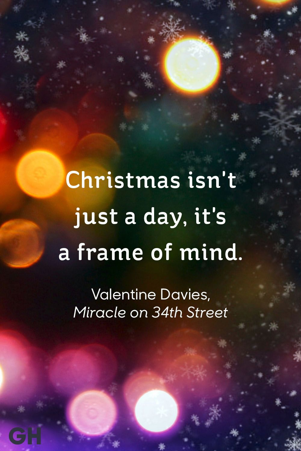 """valentine davies, """"miracle on 34th street"""" -best christmas quotes"""