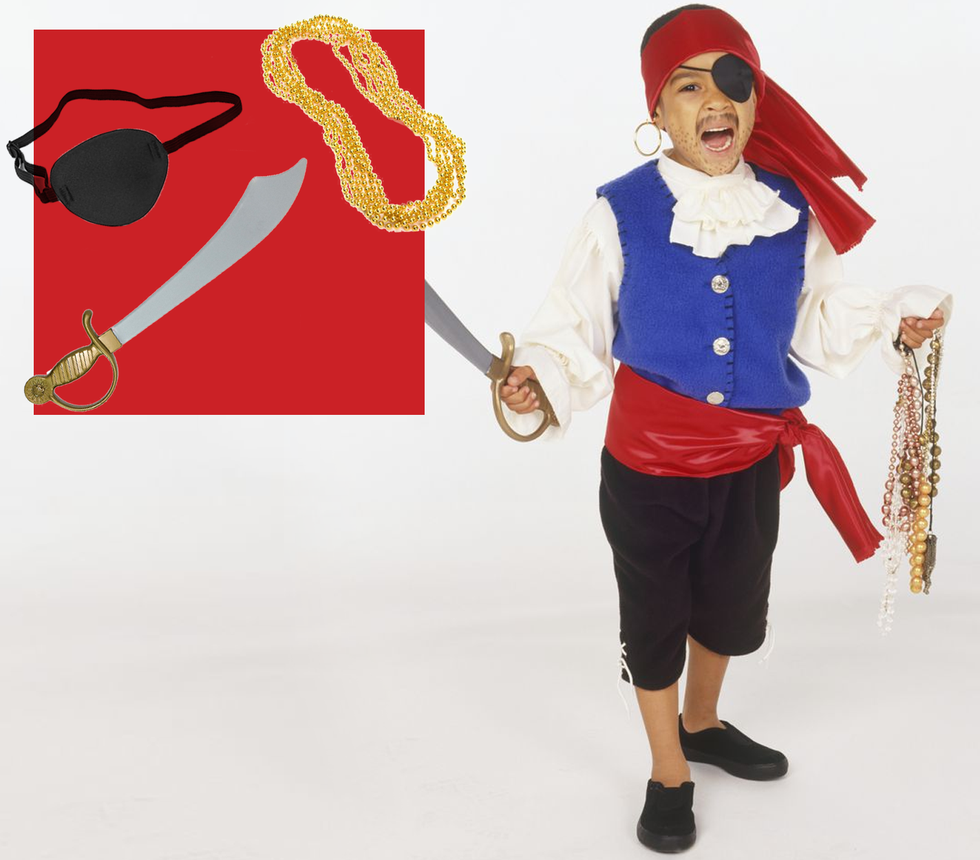 These DIY Pirate Halloween Costumes 'Arrr' Perfect for the Whole Family