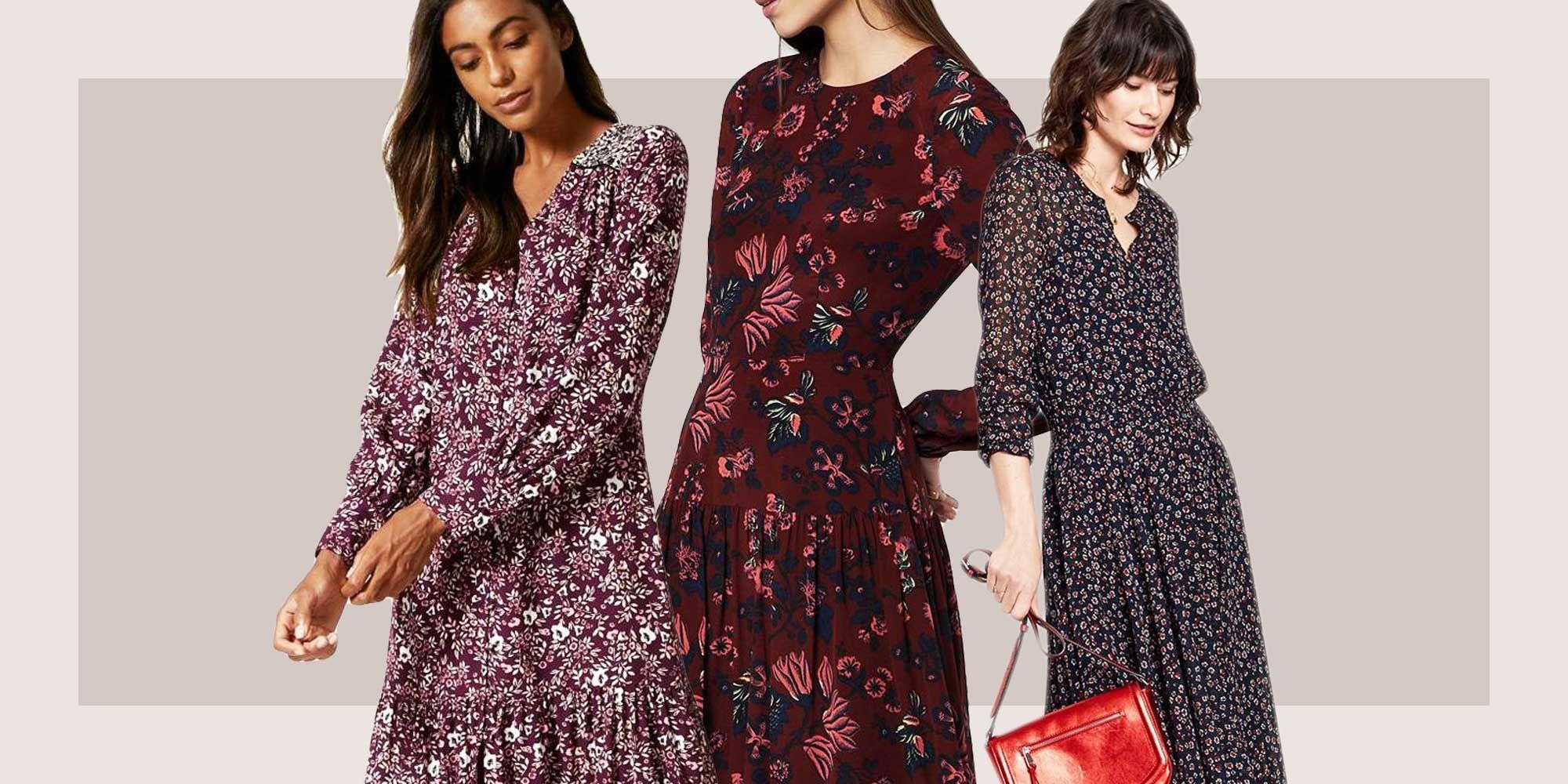 Long-sleeve maxi dresses