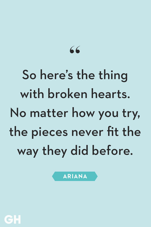 Deep broken heart quotes