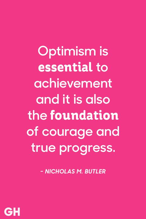 Quotes About Optimism Custom 48 Most Optimistic Quotes Positive Sayings To Inspire Optimism