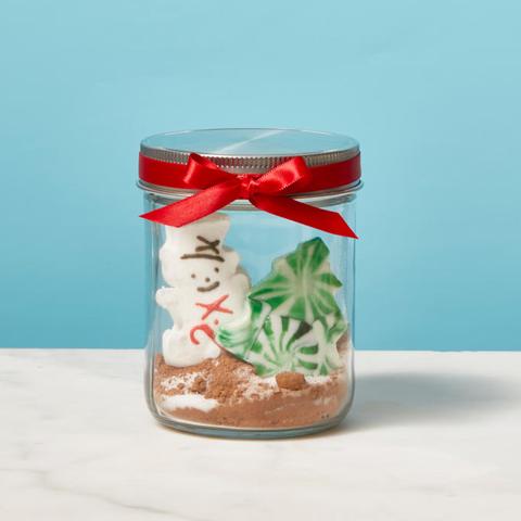 How To Diy A Mason Jar Hot Chocolate Gift Using Peeps Diy Gift Idea Using Peeps
