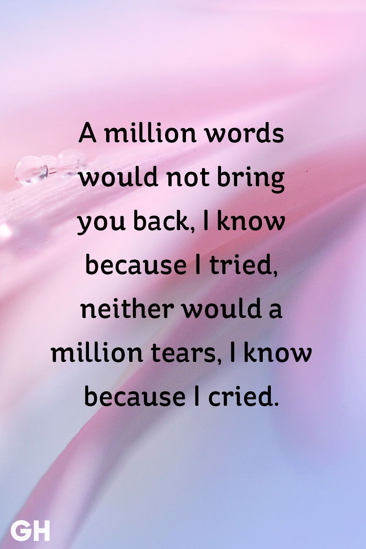 Image of: Shayari Best Sad Quotes Good Housekeeping 16 Best Sad Quotes Quotes Sayings About Sadness And Tough Times