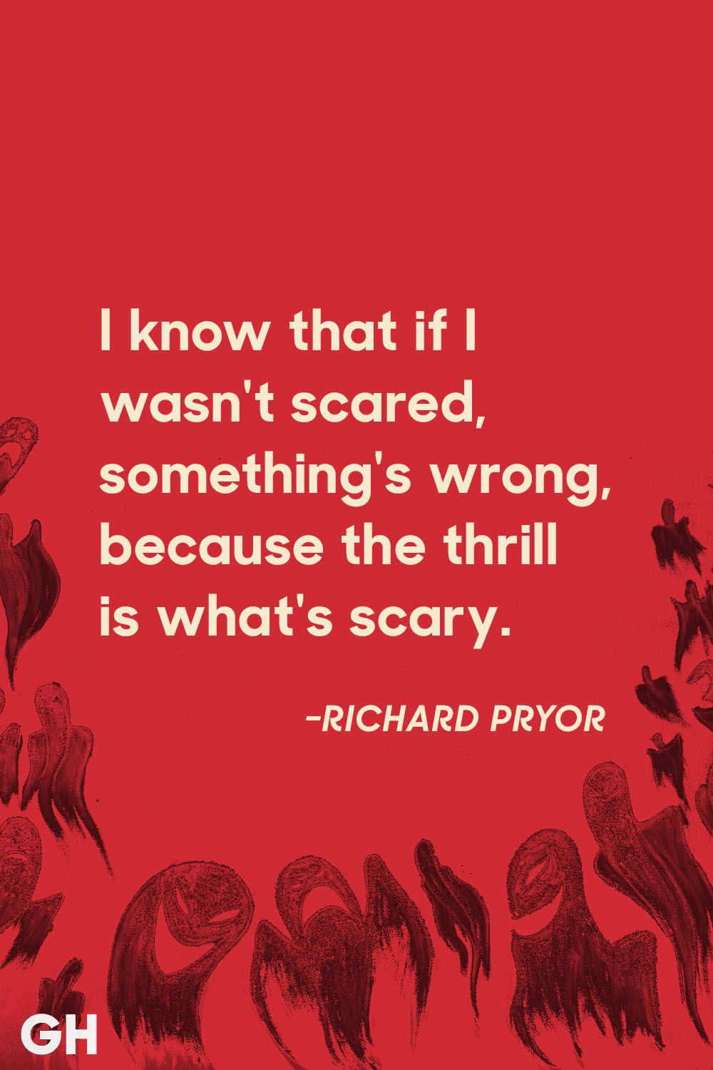 richard pryor scary quotes