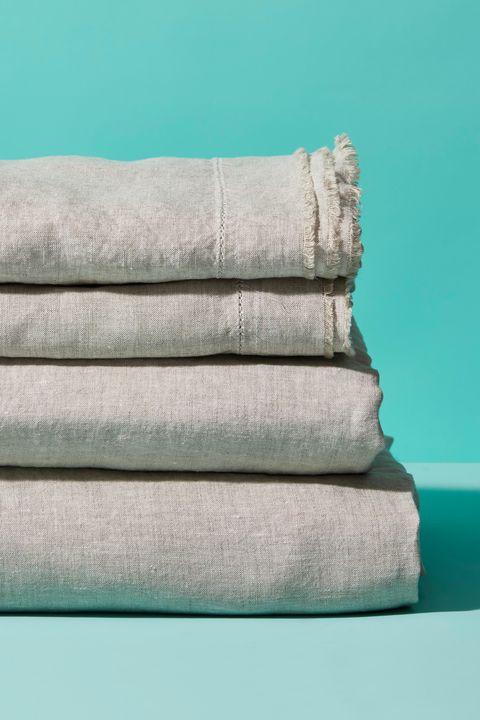 Saphyr Pure Linen Sheet Set - Best Sheets