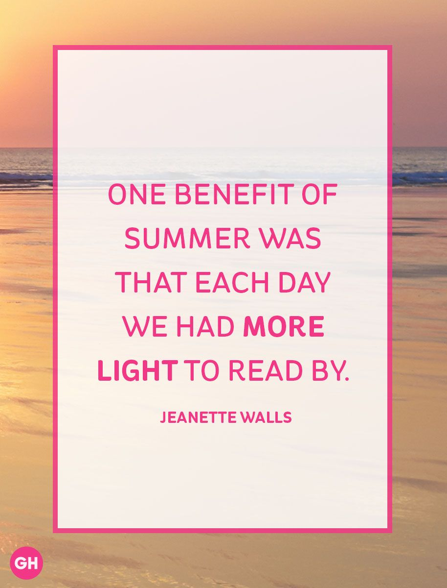 Image of: Instagram Image Good Housekeeping 20 Best Summer Quotes Lovely Sayings About Summertime