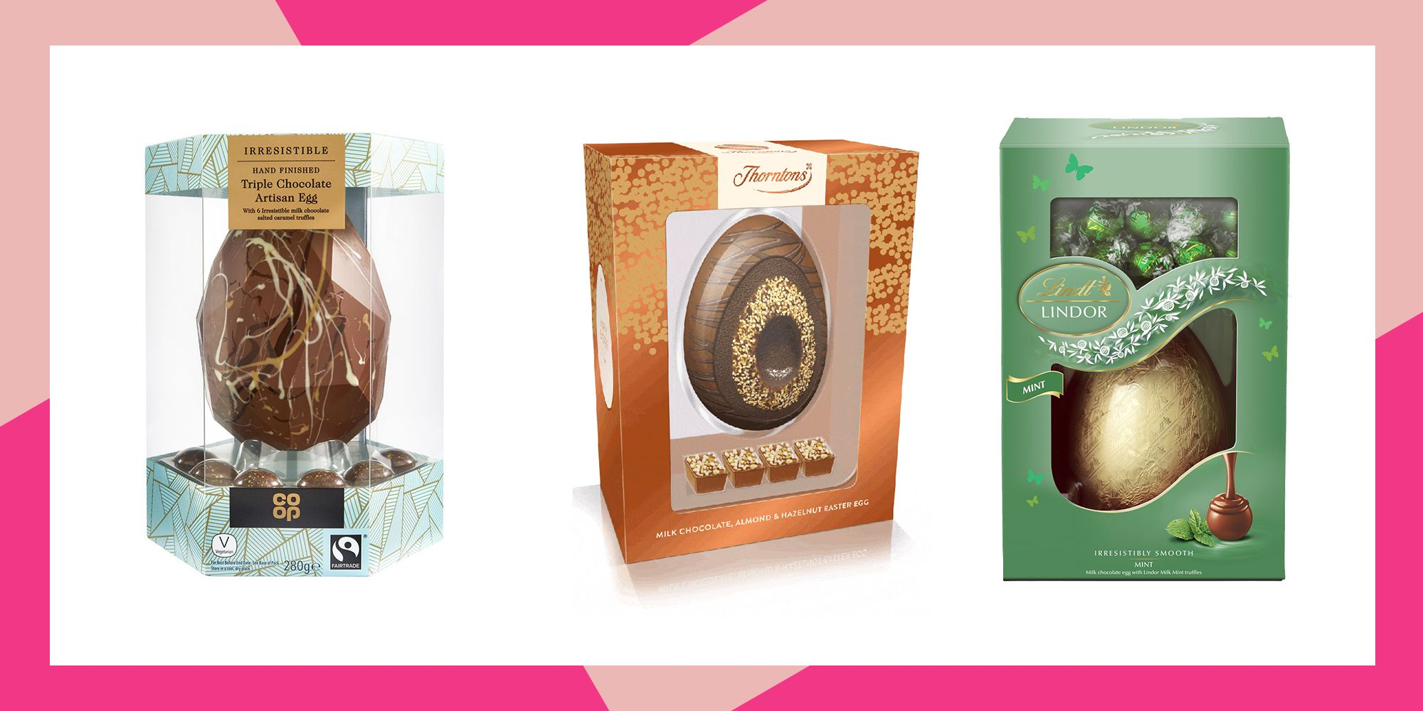 The Best Milk Chocolate Easter Eggs