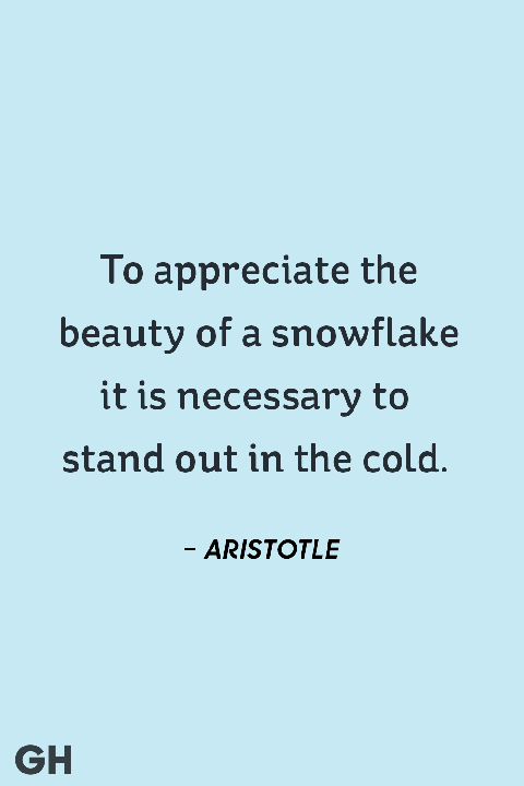 60 Best Winter Quotes Short Sayings And Quotes About Winter Awesome Snowflake Love Quotes