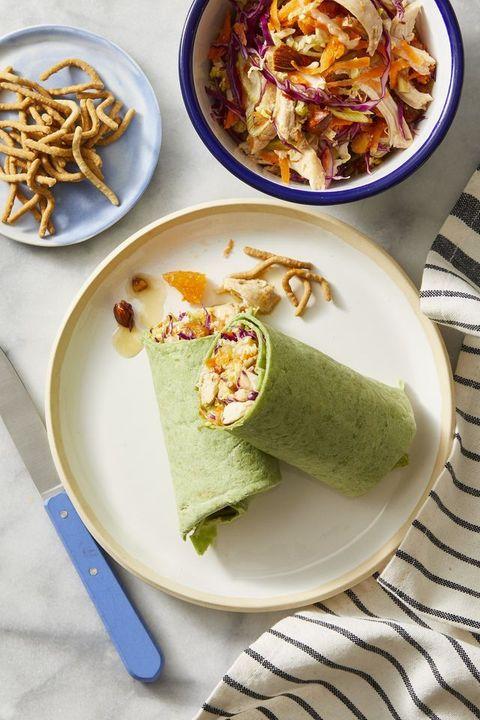 Chinese Chicken Salad Wrap Recipe