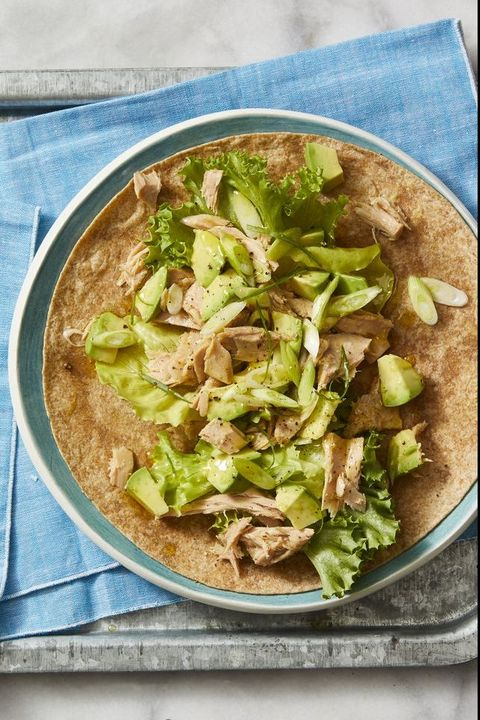 Best Tuna and Avocado Salad Wrap Recipe