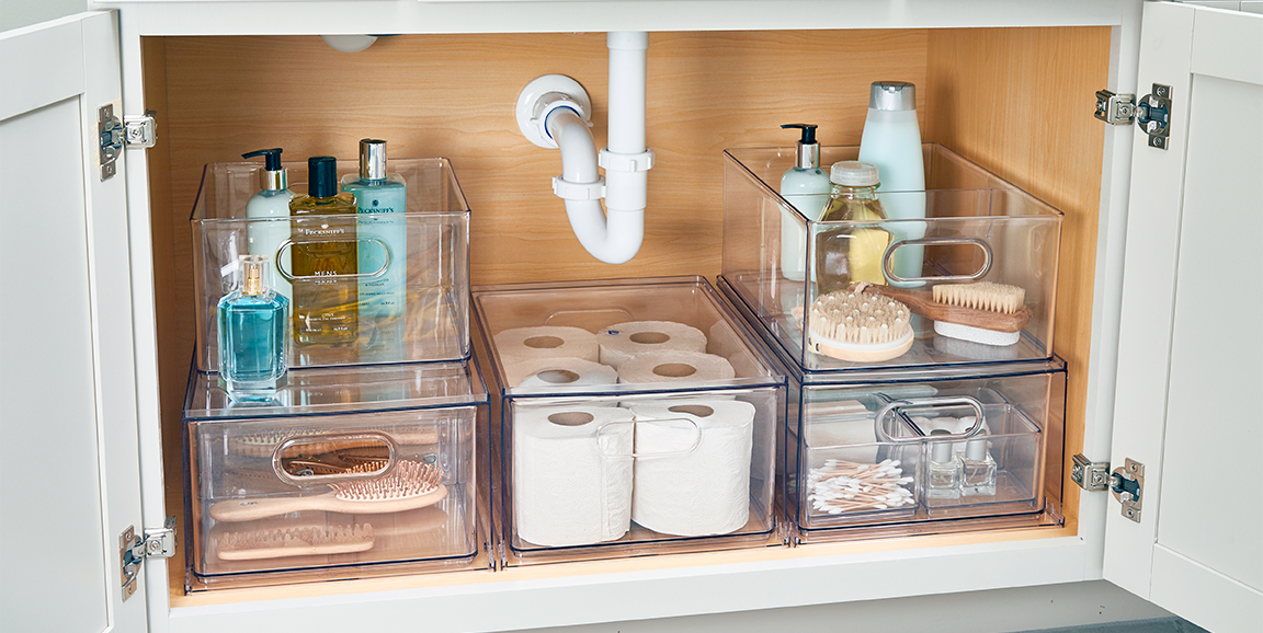 11 Genius Ideas to Up Your Under-the-Sink Storage Game