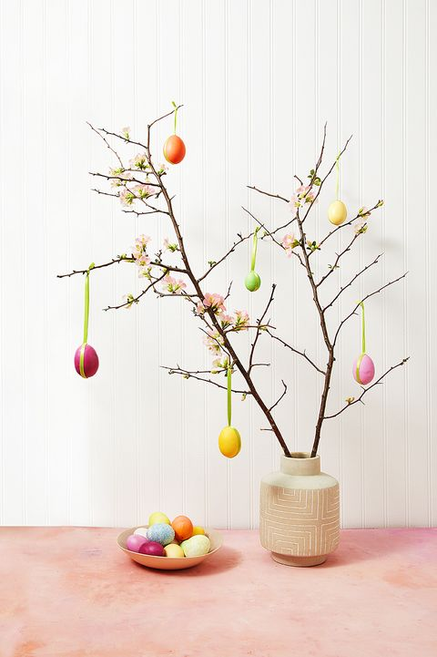 easter decoration ideas - easter egg tree