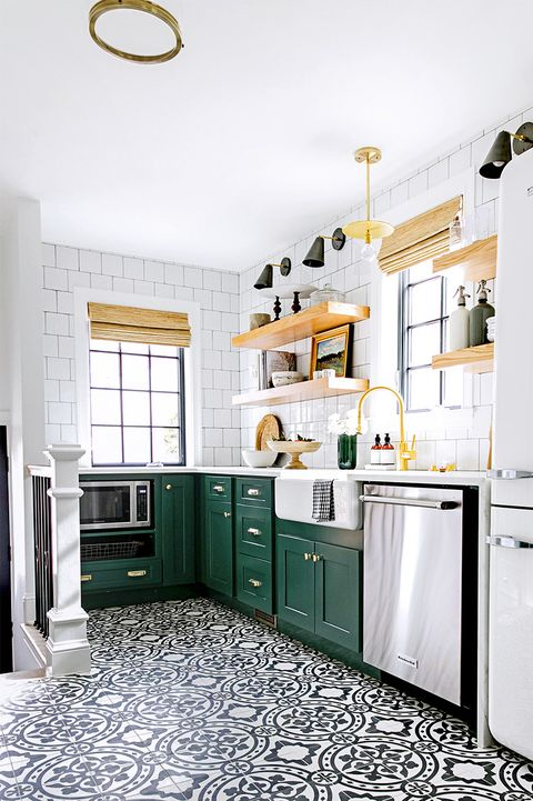 18 Best Kitchen Paint and Wall Colors - Ideas for Por ... Ideas For Kitchens Tile Paint on countertops for kitchens, fabric for kitchens, interior paint for kitchens, decorating idea for kitchens, gloss paint for kitchens, painting for kitchens, paint colors for kitchens,