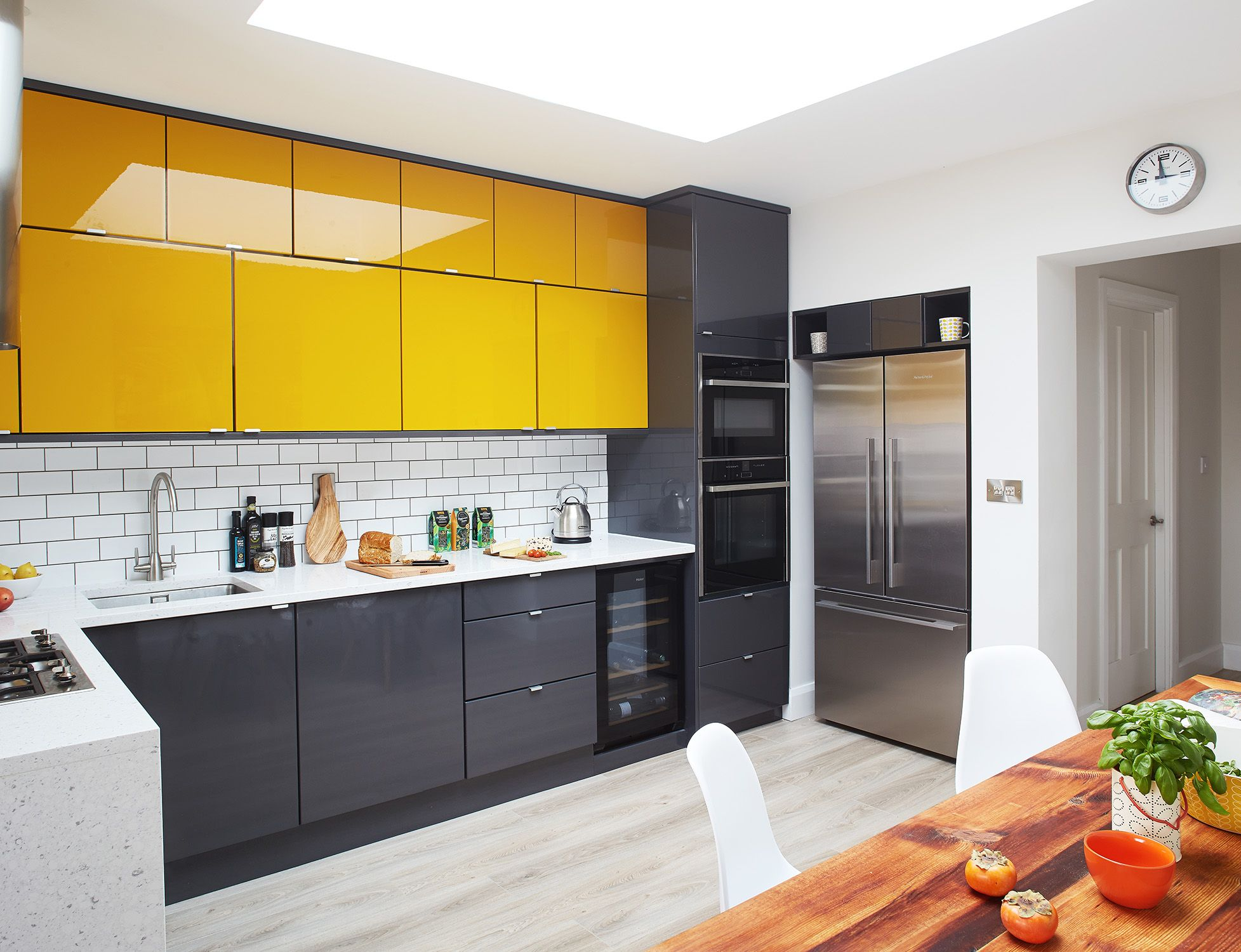 18 Best Kitchen Paint and Wall Colors - Ideas for Por ... Bright Yellow For Kitchen Ideas on golden yellow kitchen ideas, bright country kitchen ideas, yellow kitchen decorating ideas, yellow kitchen wall ideas, bright yellow room ideas, bright yellow interiors, bright yellow fashion, gray and yellow kitchen ideas, bright yellow bathroom ideas, bright yellow kitchen decorations, yellow kitchen color ideas, bright yellow living rooms, blue and yellow kitchen ideas, lemon yellow kitchen ideas, yellow country kitchen ideas, soft yellow kitchen ideas, bright yellow color, bright yellow dining room, bright yellow walls, bright yellow laundry rooms,