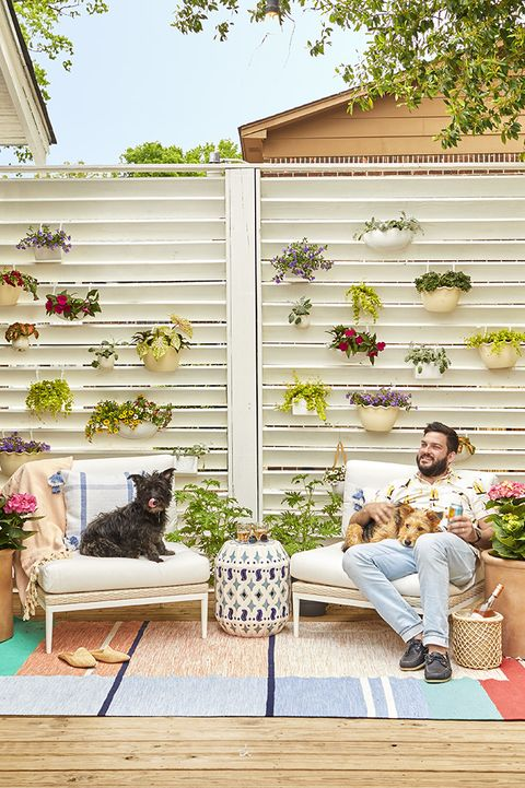 diy green wall, backyard ideas