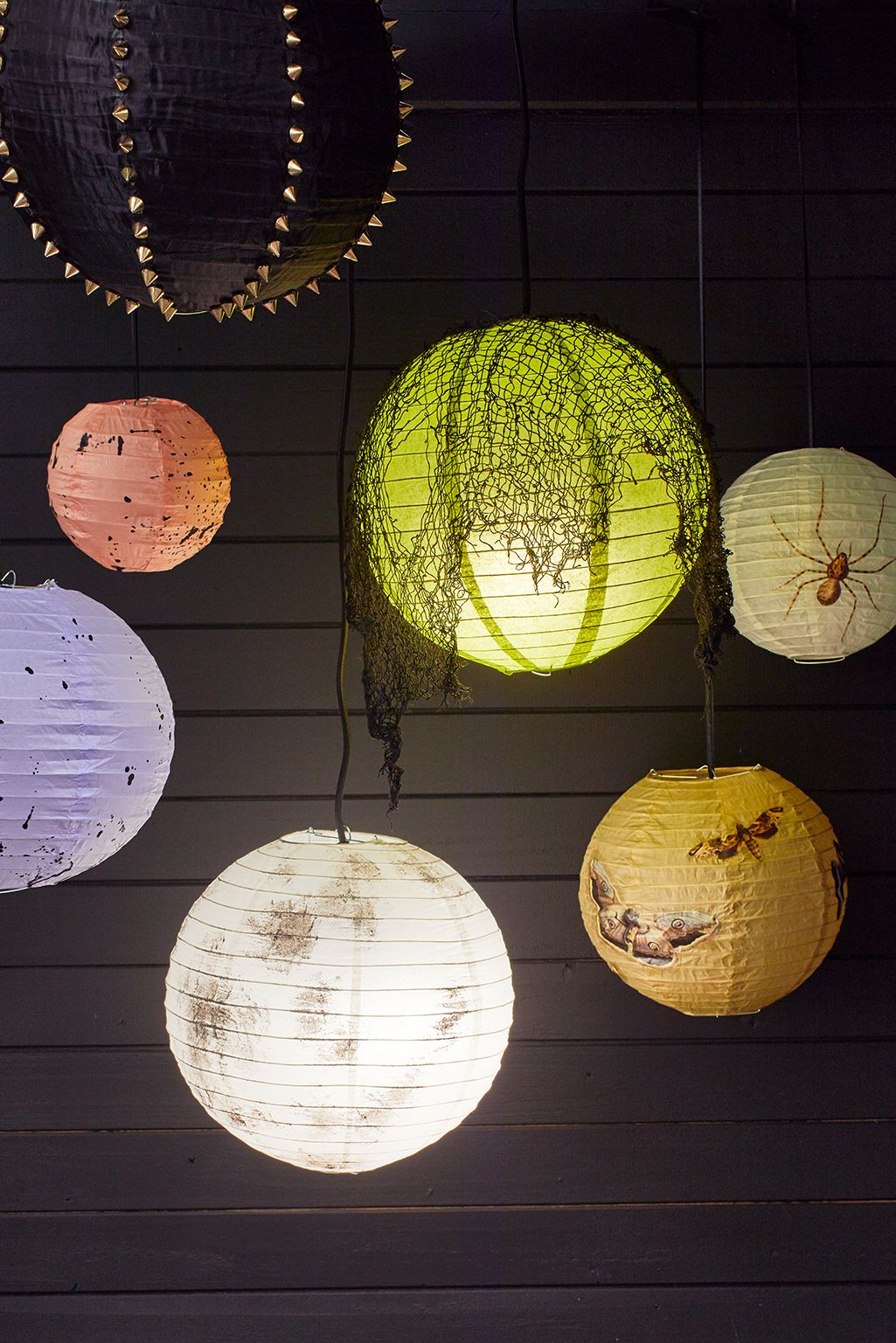 How To Make Diy Paper Lanterns For Halloween
